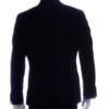 mens suit black back