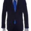 mens suit black front