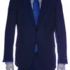 mens suit cobalt blue front