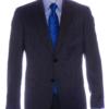 mens suit grey front