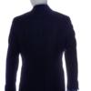 mens suit navy blue back