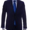 mens suit navy blue front