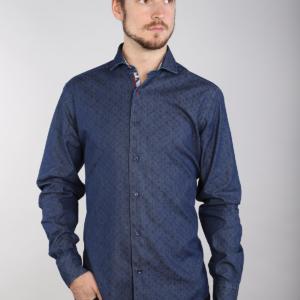 7 Downie St J5 - Paisley Dot Denim Shirt