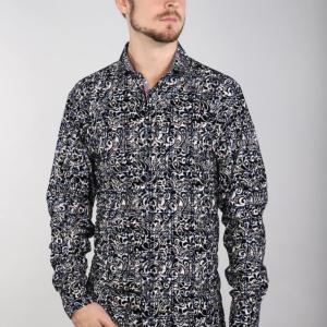 7 Downie St 2036 - Flocked Shirt