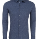 Stone Rose Navy Ditsy Knit Long Sleeve Shirt