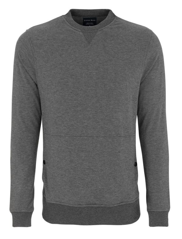 Stone Rose Gray Design Sweater