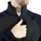 7 Downie St Polaris 1/4 Zip Sweater - Navy