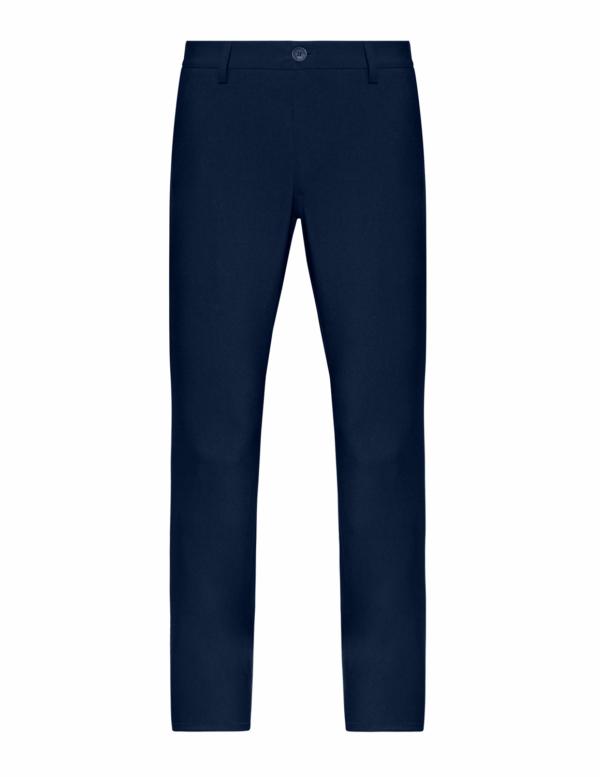 Stone Rose Navy Stretch Performance Pants