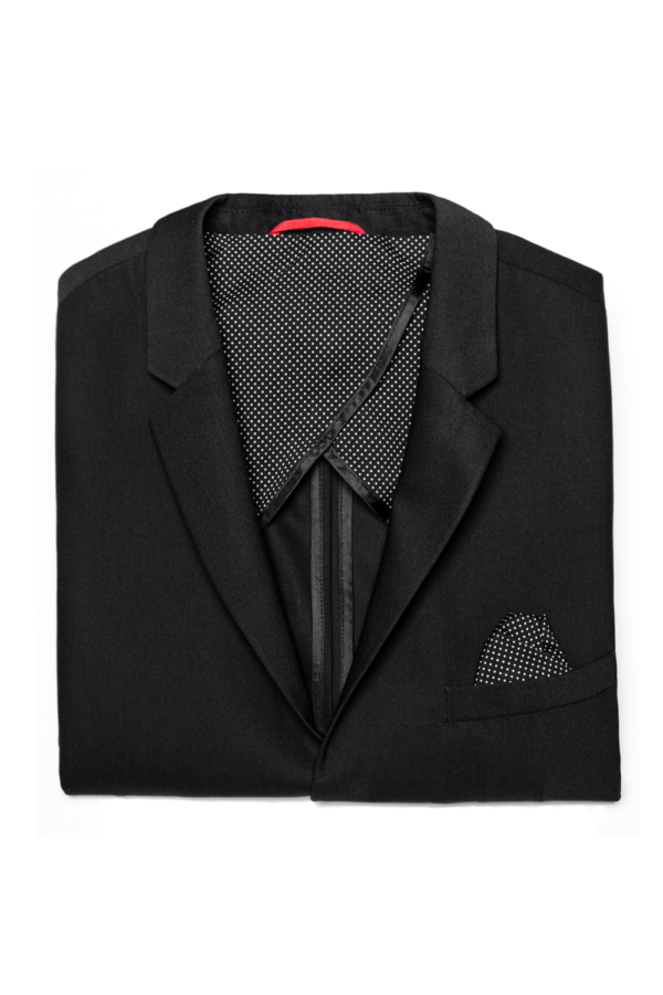Stone Rose Black Stretch Performance Blazer