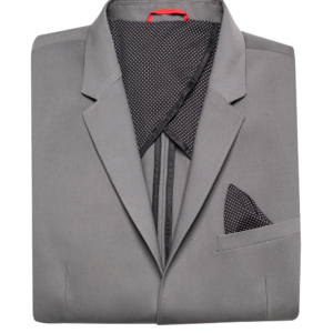 Stone Rose Dark Grey Stretch Performance Blazer