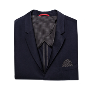 Stone Rose Navy Stretch Performance Blazer