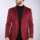 7 Downie St Dorsey - Red Suede Sport Jacket
