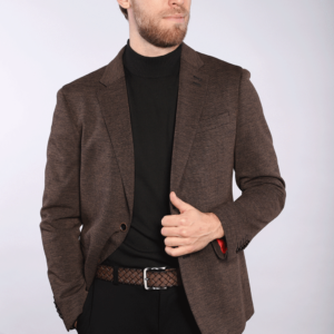 Lilo - Brown Melange Sport Jacket