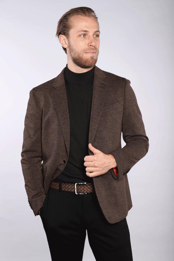 Lilo - Brown Melange Sport Jacket