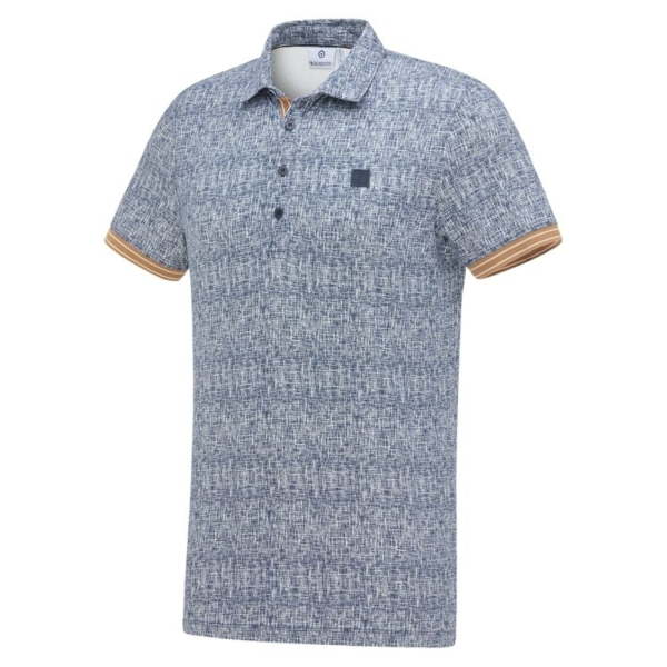 Blue Industry Knit Polo - KBIS21-M35