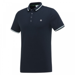 Blue Industry Knit Polo - KBIS21-M24