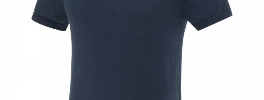 blue industry knit polo navy blue
